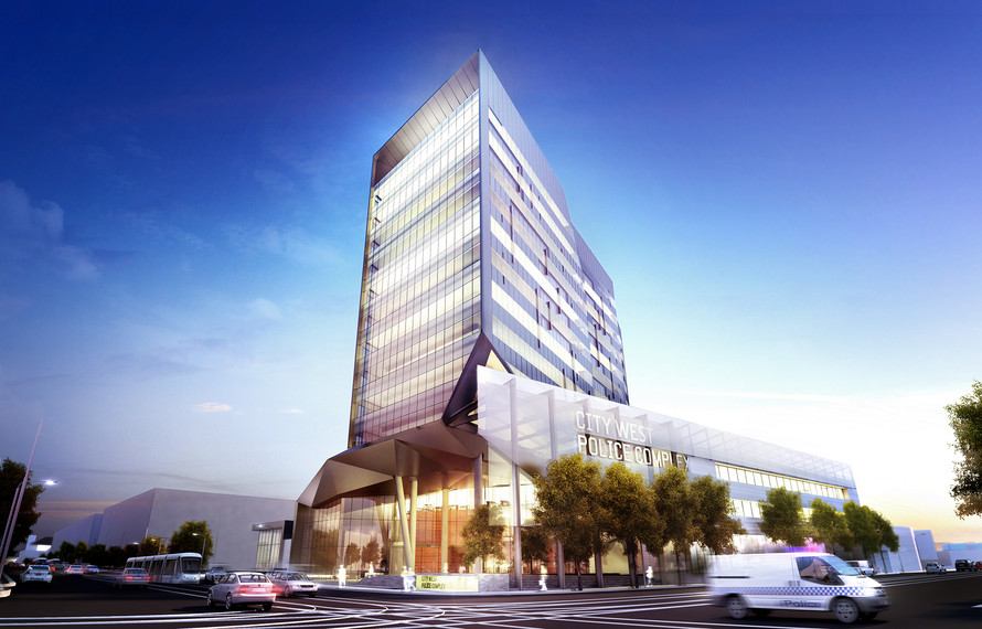 City West Police Complex – 313 Spencer St, Melbourne Project - image 1