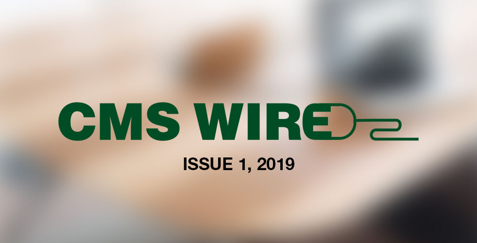 CMS Wire | Issue 1, Q2 2019 - image