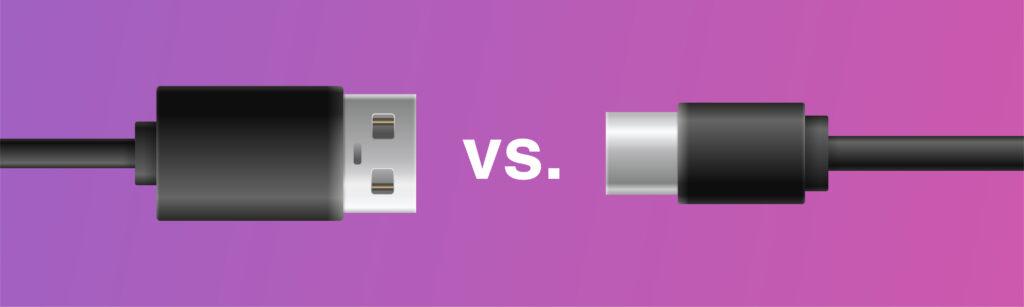 USB-A vs. USB-C