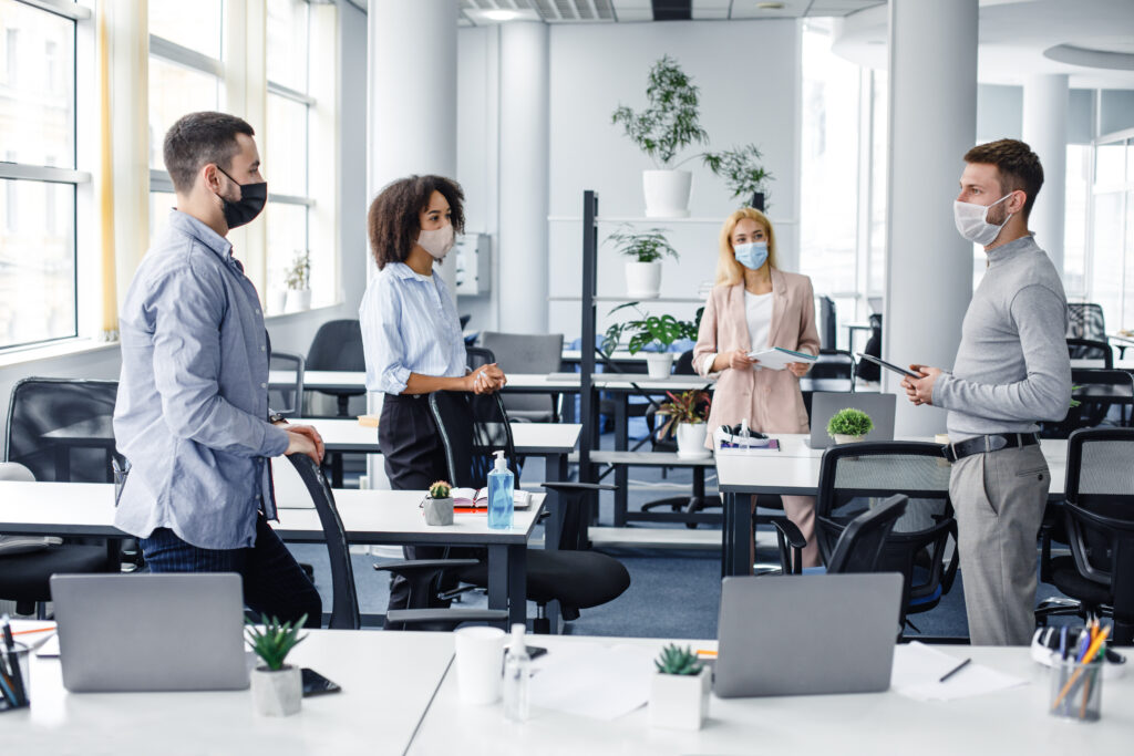 Smart workplace technology will help offices reopen safely - image